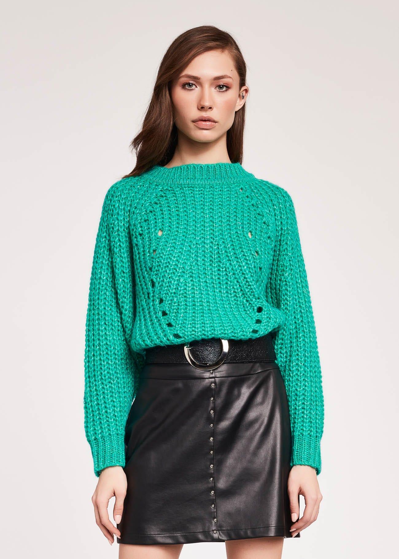 Mohair-blend jumper