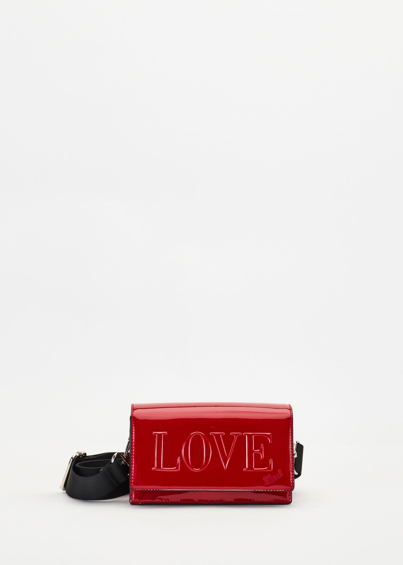 Crossbody bag with lettering