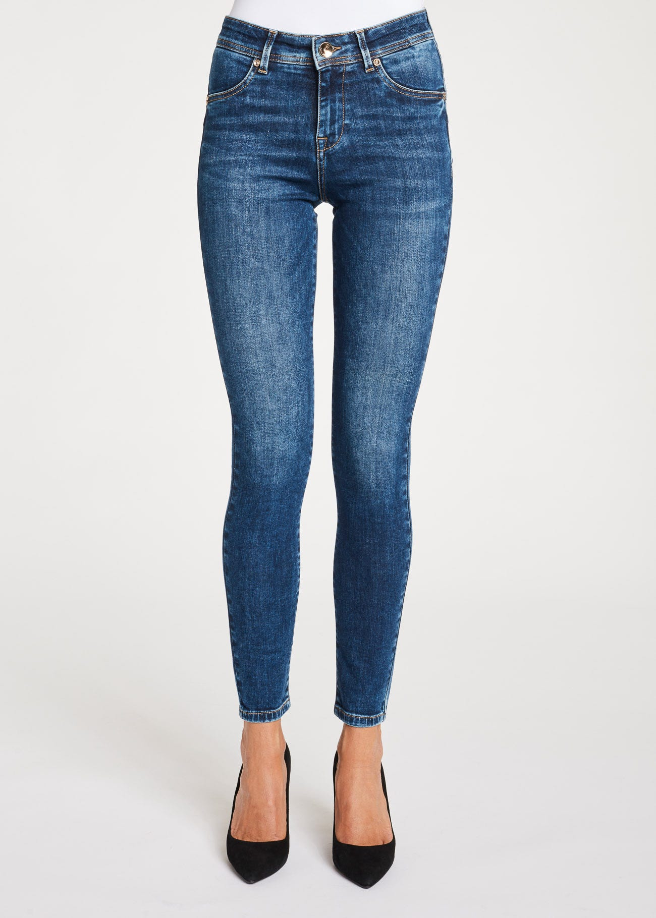 Jeggings indaco scuro